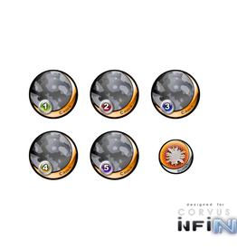 "MicroArt - Zubehör Infinity Tokens Camo ""Metro"" (6)"