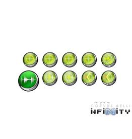MicroArt - Zubehör Infinity Tokens Hacking 01