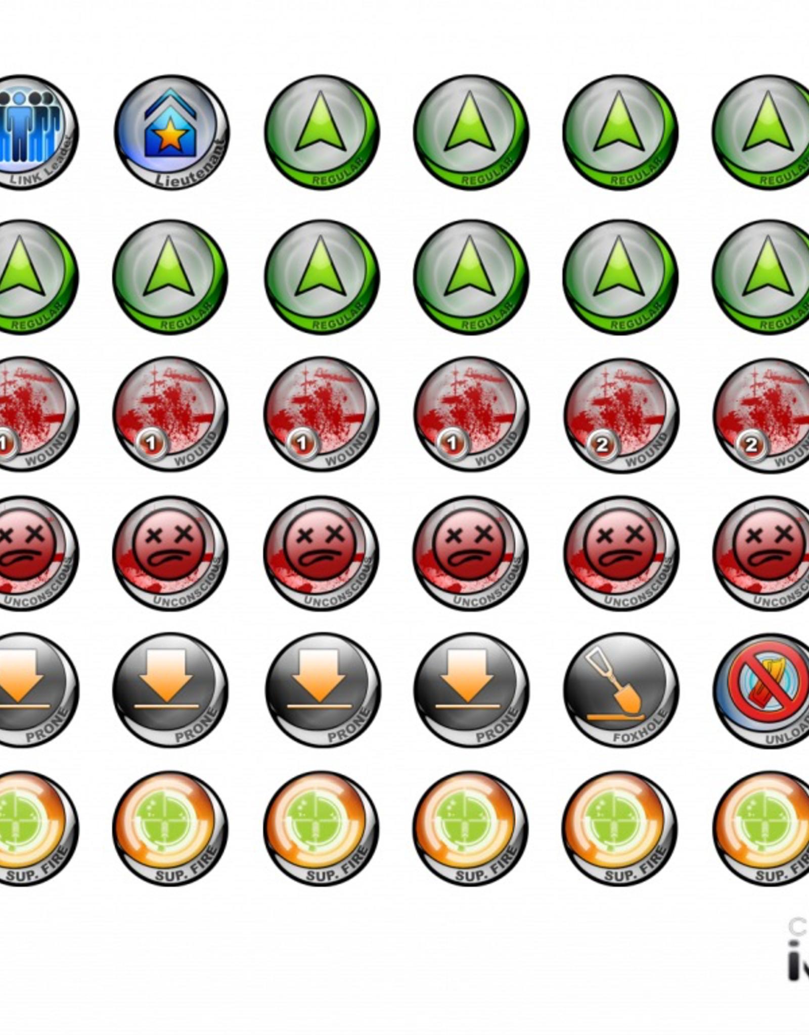 MicroArt - Zubehör Infinity Tokens Starter 01 New Version N3 (36)