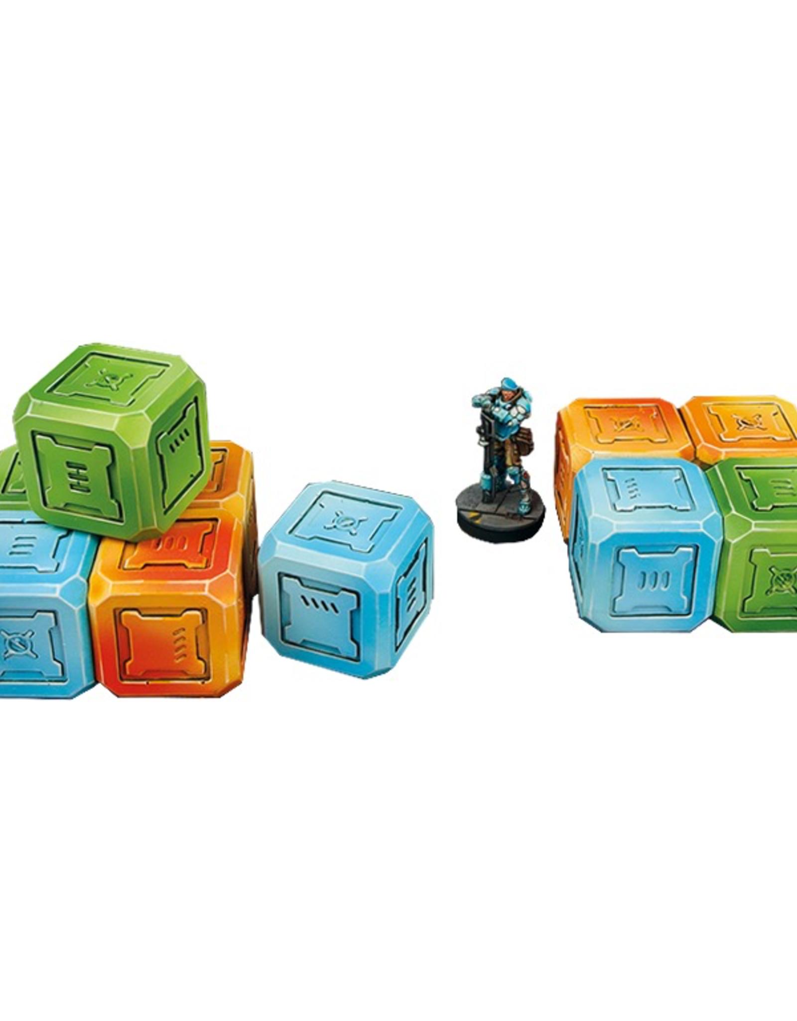 MicroArt - Scenery Quad Cargo Crates (4)