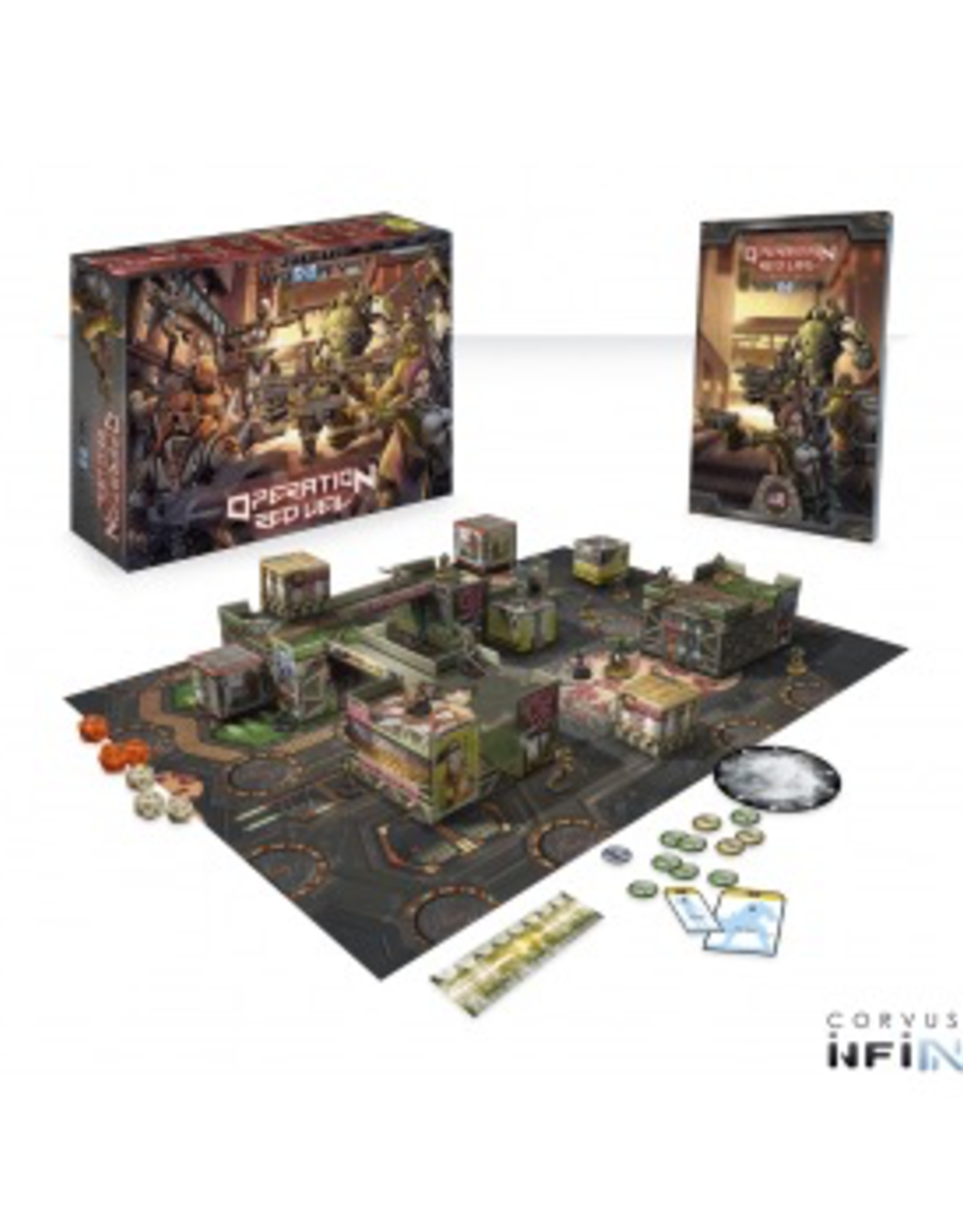 CB - Infinity Infinity: Operation: Red Veil (2 players introductory Battle Pack) - EN
