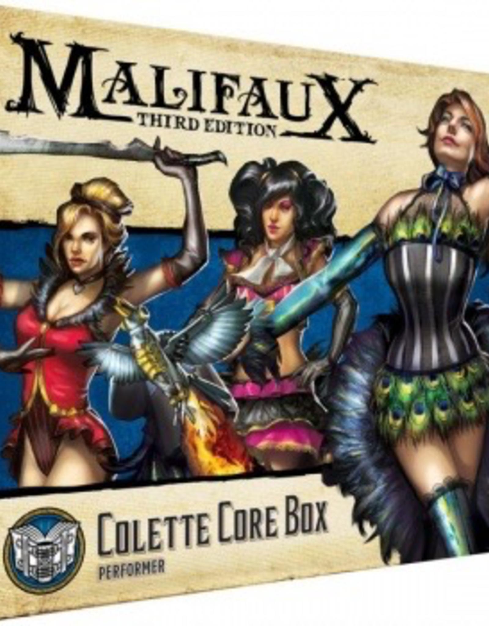 WYR - Malifaux Miniaturen Malifaux 3rd Edition - Colette Core Box - EN
