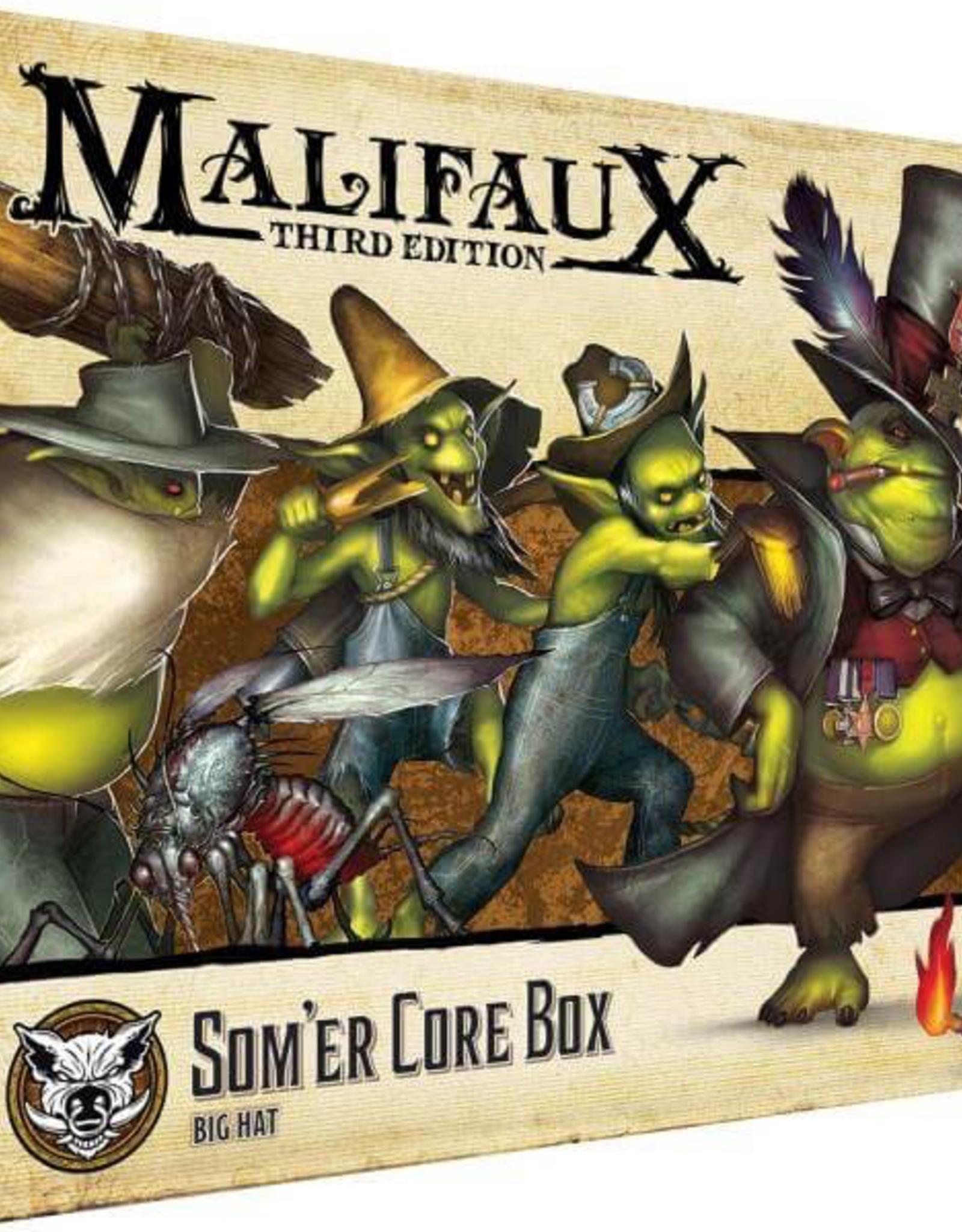 WYR - Malifaux Miniaturen Malifaux 3rd Edition - Som'er Core Box - EN