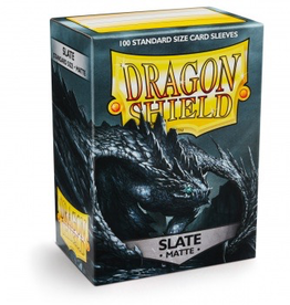 DS - Standard Sleeves Dragon Shield Standard Sleeves - Matte Slate (100 Sleeves)