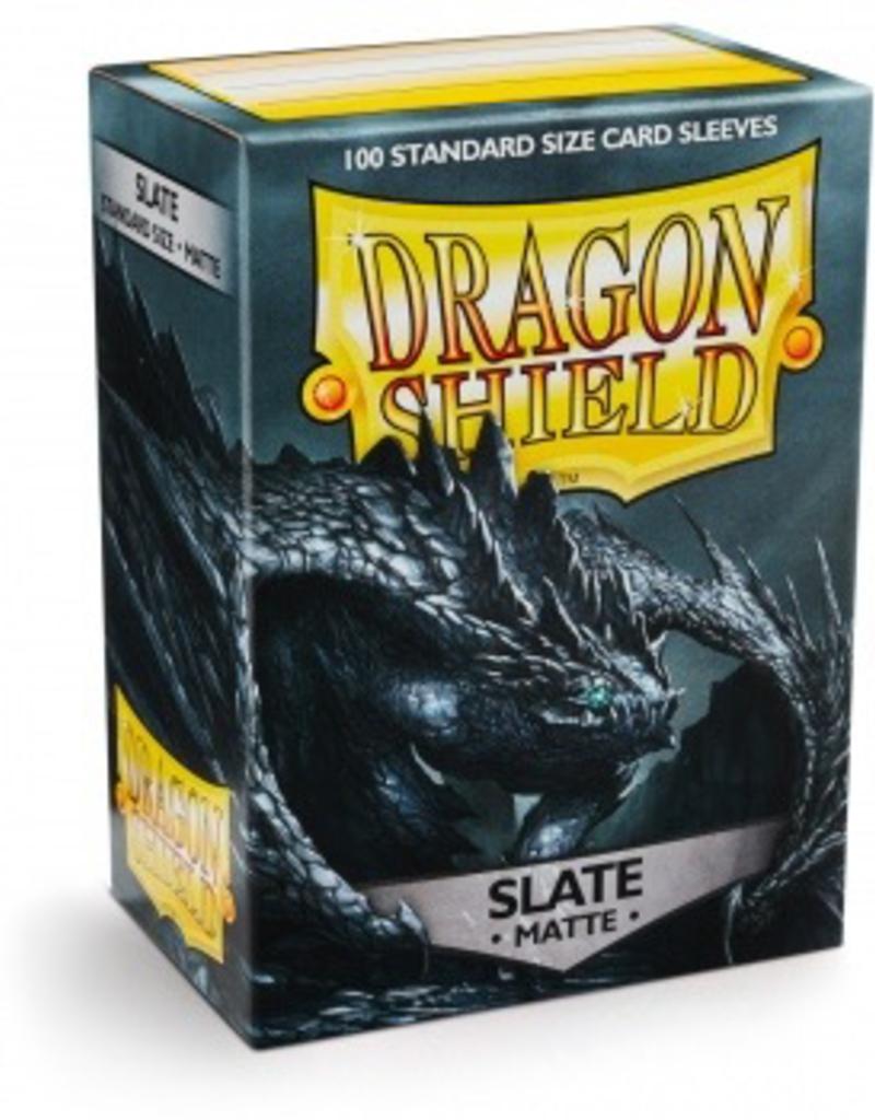 DS - Standard Sleeves Dragon Shield Standard Sleeves - Matte Slate (100 Sleeves)