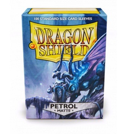DS - Standard Sleeves Dragon Shield Standard Sleeves - Matte Petrol (100 Sleeves)