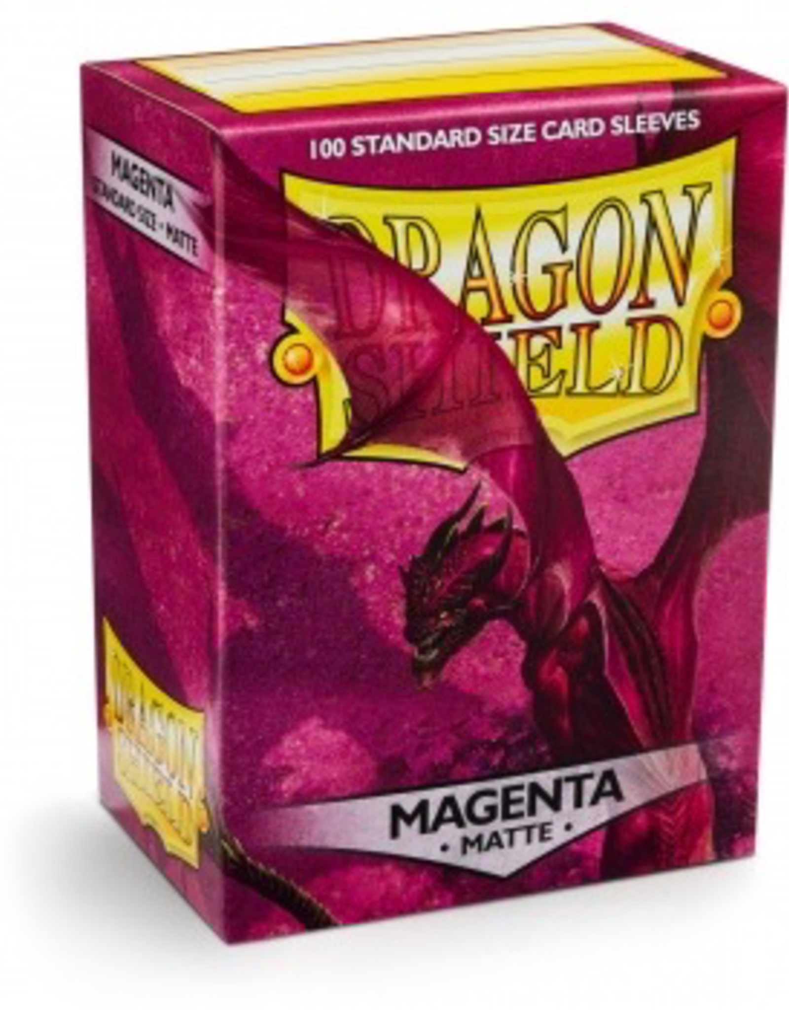 DS - Small Sleeves Dragon Shield Standard Sleeves - Matte Magenta (100 Sleeves)