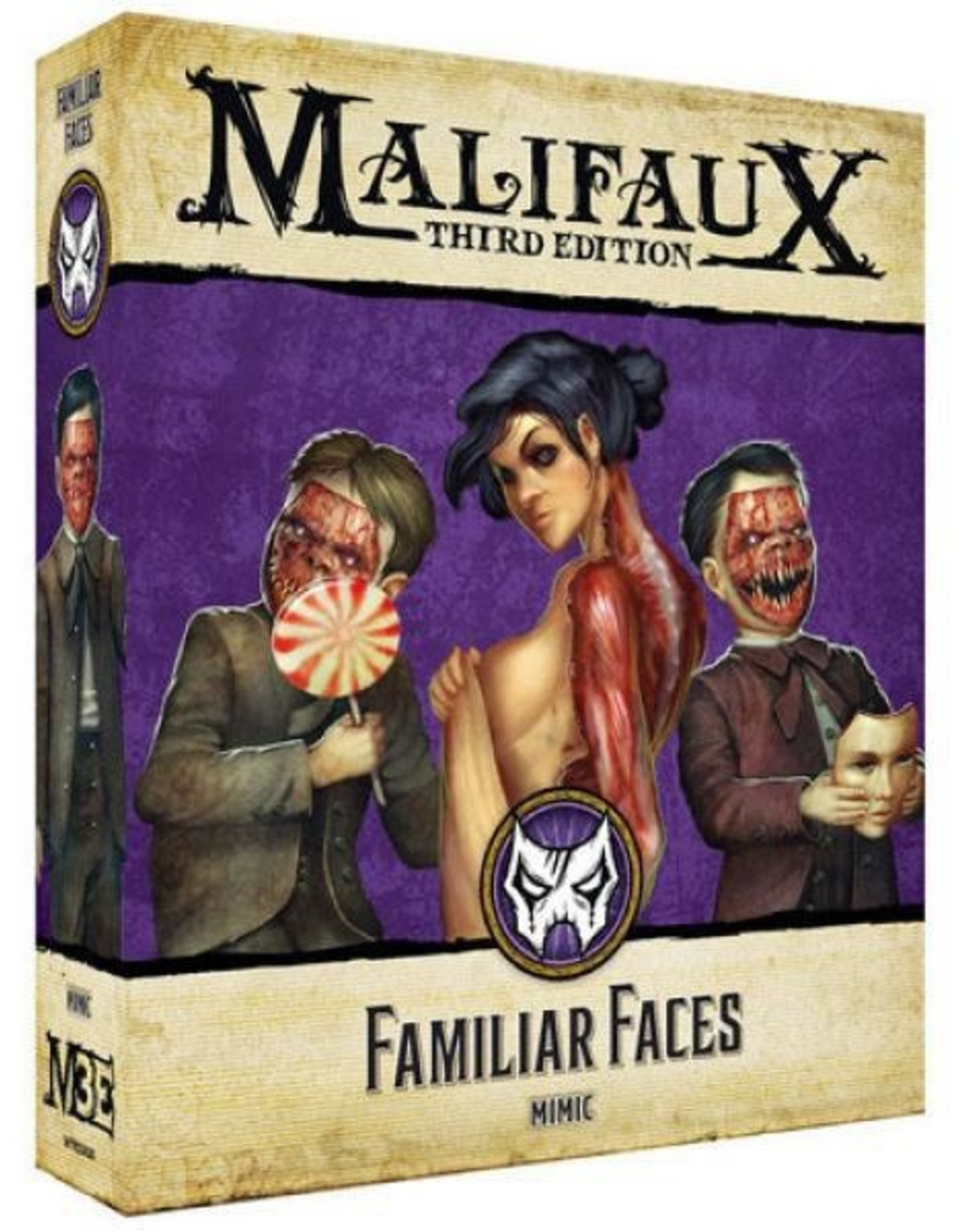 WYR - Malifaux Miniaturen Familiar Faces