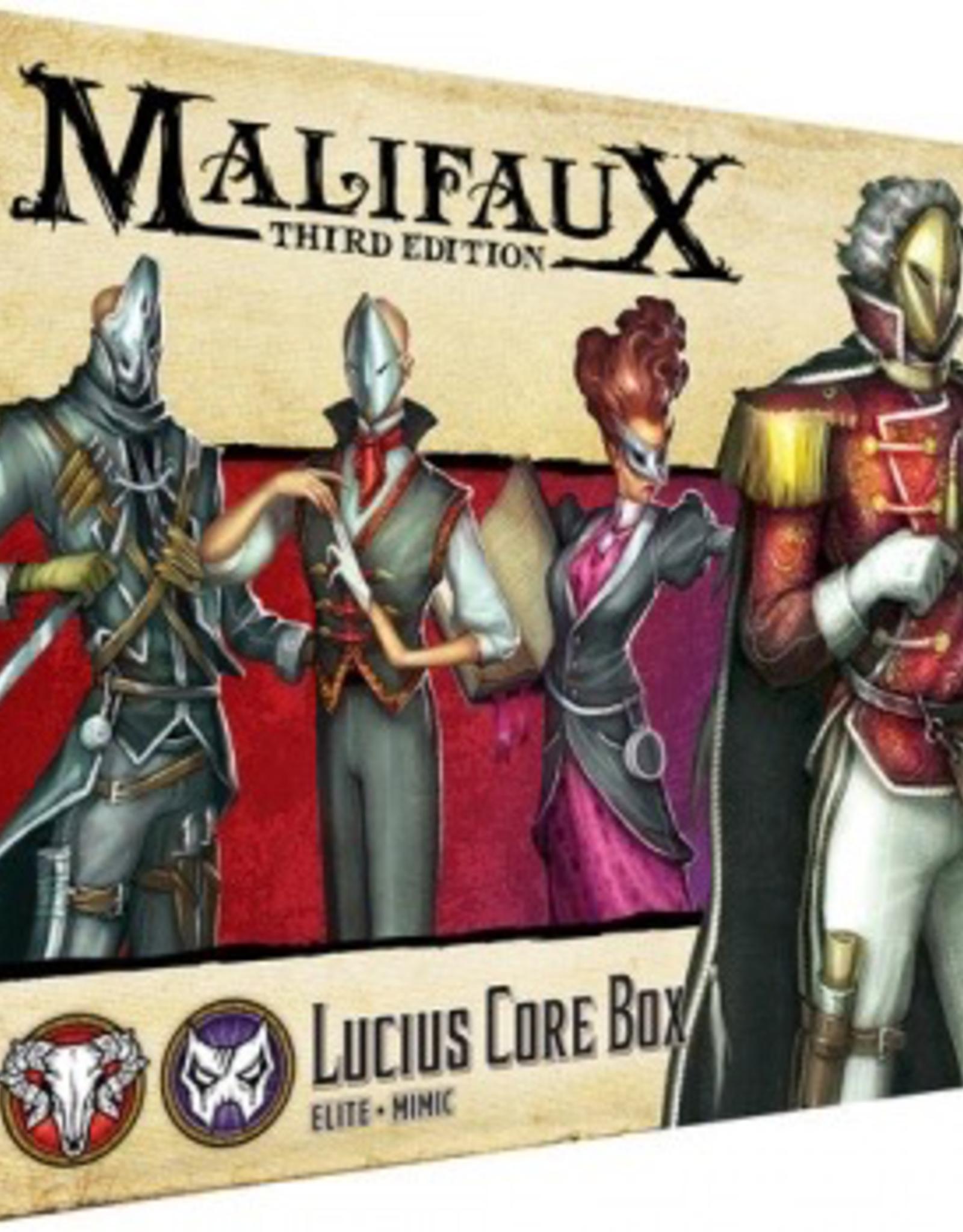 WYR - Malifaux Miniaturen Malifaux 3rd Edition - Lucius Core Box - EN