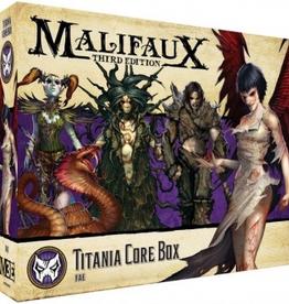 WYR - Malifaux Miniaturen Titania Crew Box