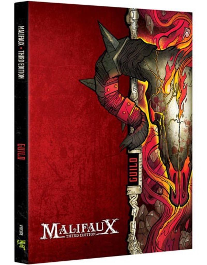WYR - Malifaux Zubehör Malifaux 3rd Edition - Guild Faction Book - EN
