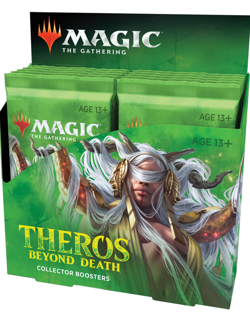MTG - Theros MTG - Theros Beyond Death Collector Booster Display (12 Boosters) - EN