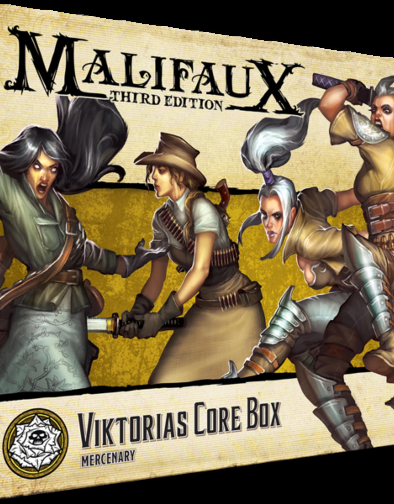 WYR - Malifaux Miniaturen Malifaux 3rd Edition - Viktoria Core Box - EN