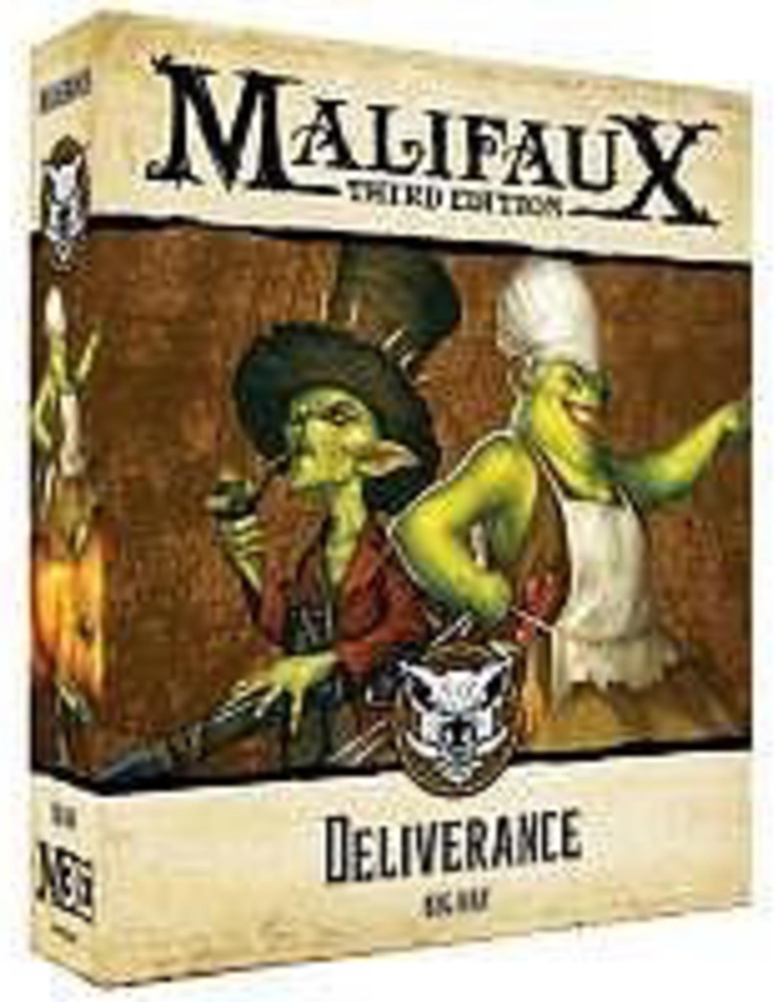 WYR - Malifaux Miniaturen Deliverance