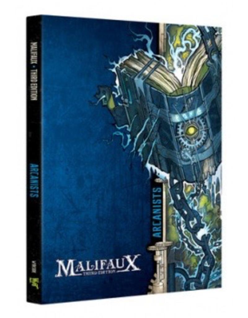 WYR - Malifaux Zubehör Malifaux 3rd Edition - Arcanist Faction Book - EN