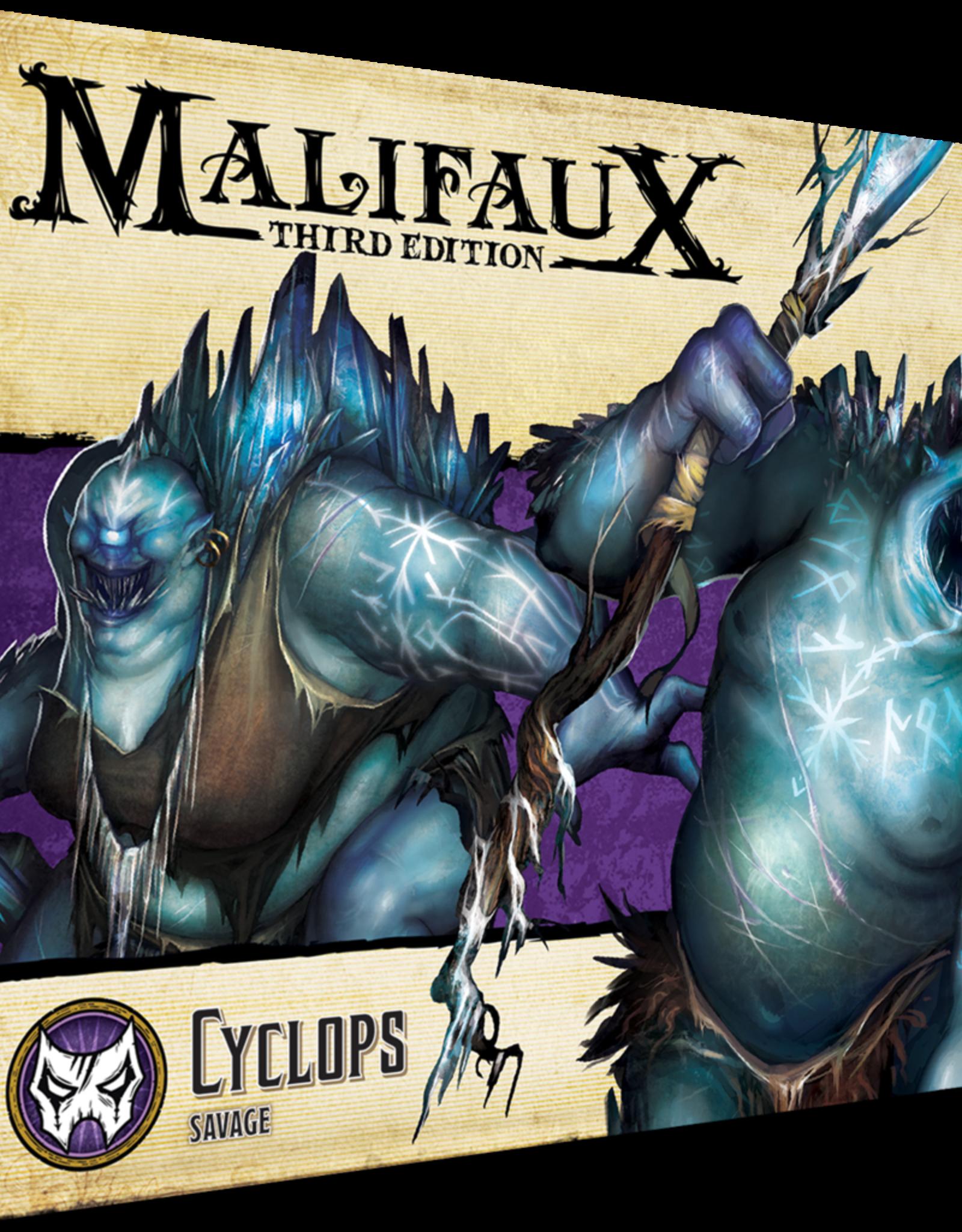 WYR - Malifaux Miniaturen Cyclops