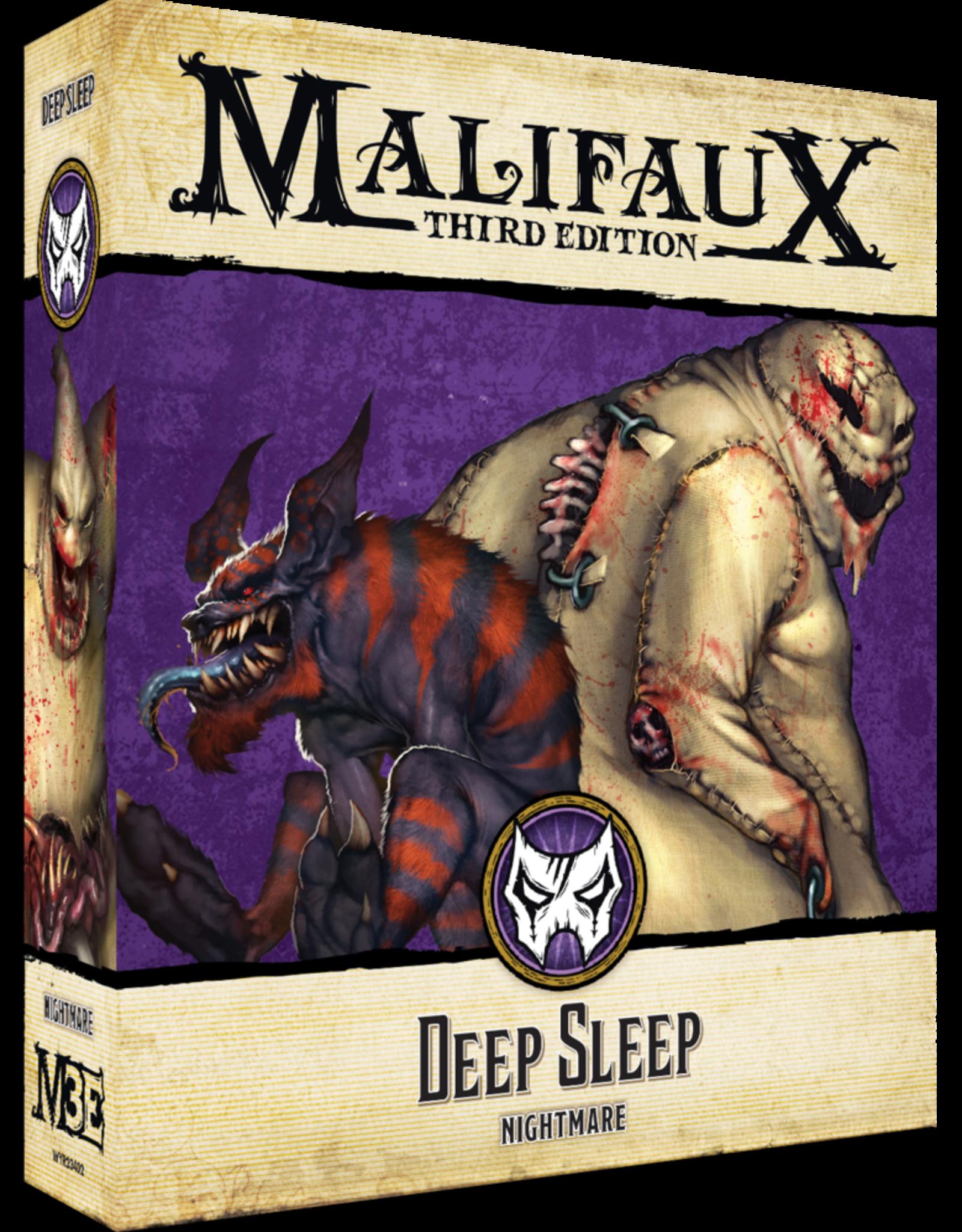 WYR - Malifaux Miniaturen Malifaux 3rd Edition - Deep Sleep - EN