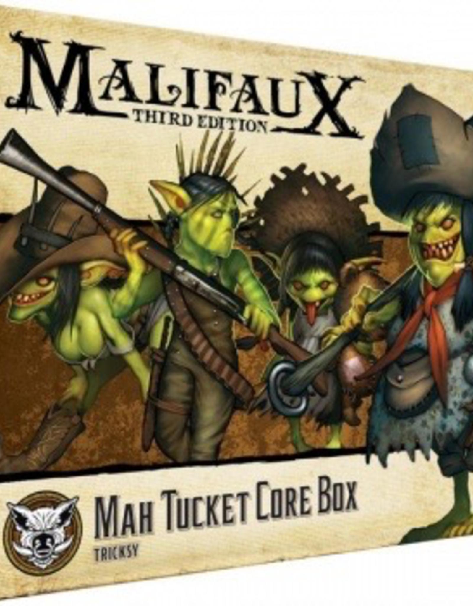 WYR - Malifaux Miniaturen Malifaux 3rd Edition - Mah Tucket Core Box - EN