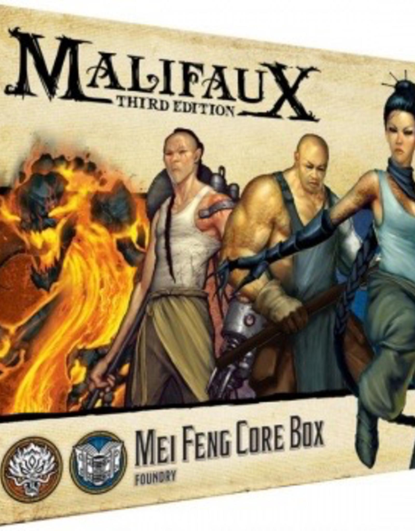 WYR - Malifaux Miniaturen Malifaux 3rd Edition - Mei Feng Core Box - EN