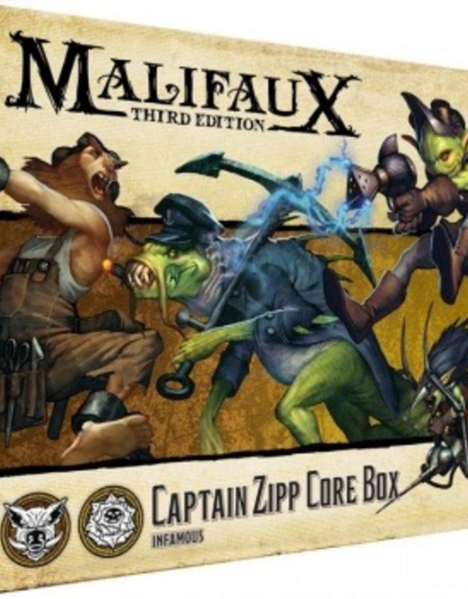 WYR - Malifaux Miniaturen Malifaux 3rd Edition - Zipp Core Box - EN