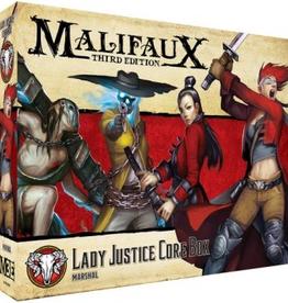 WYR - Malifaux Miniaturen Malifaux 3rd Edition - Lady Justice Core Box - EN