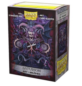 DS - Standard Sleeves Dragon Shield Brushed Art Sleeves - Saturion: Coat-of-Arms (100 Sleeves)