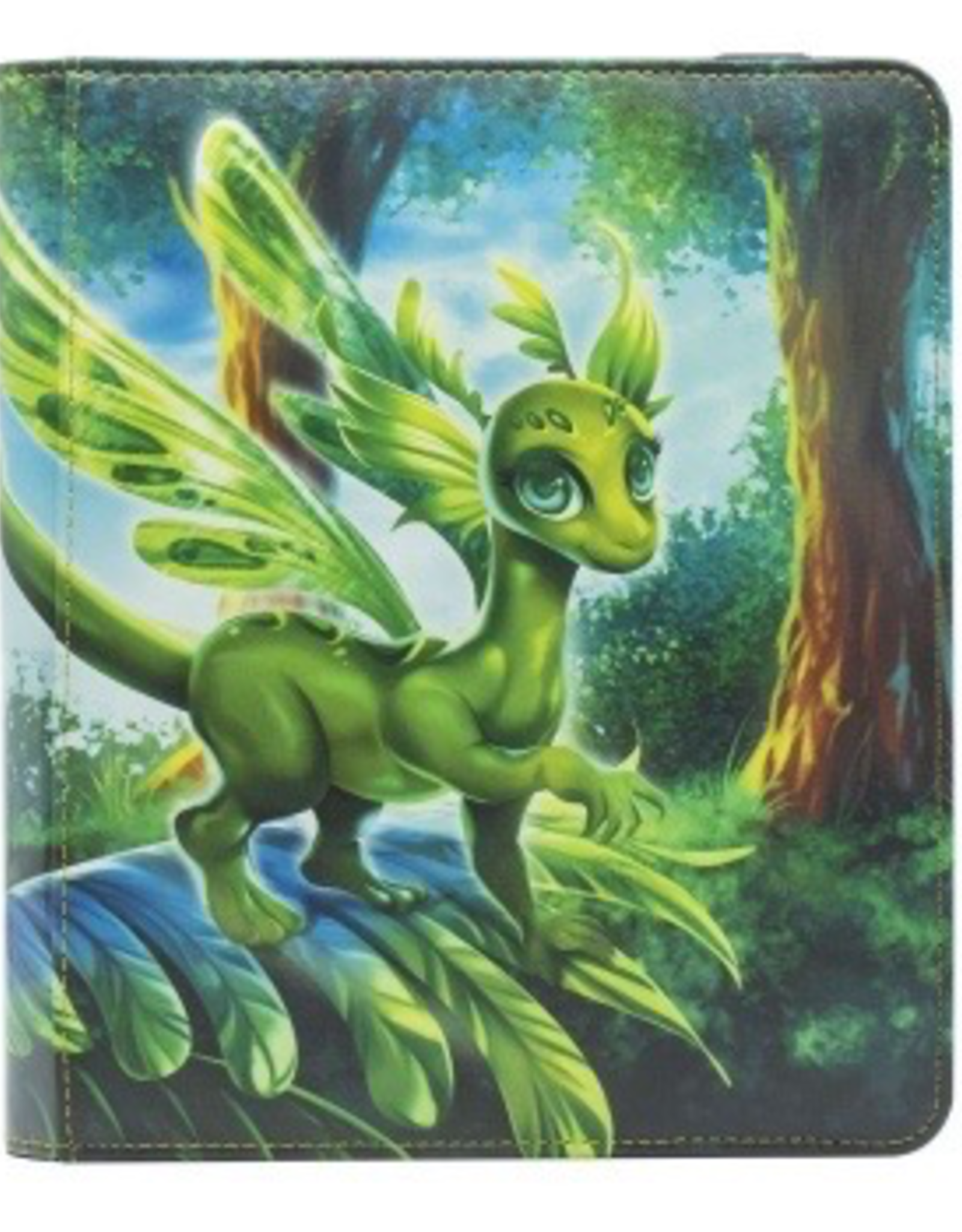 DS - Binder Dragon Shield Card Codex Portfolio 160 - Olive 'Peah'
