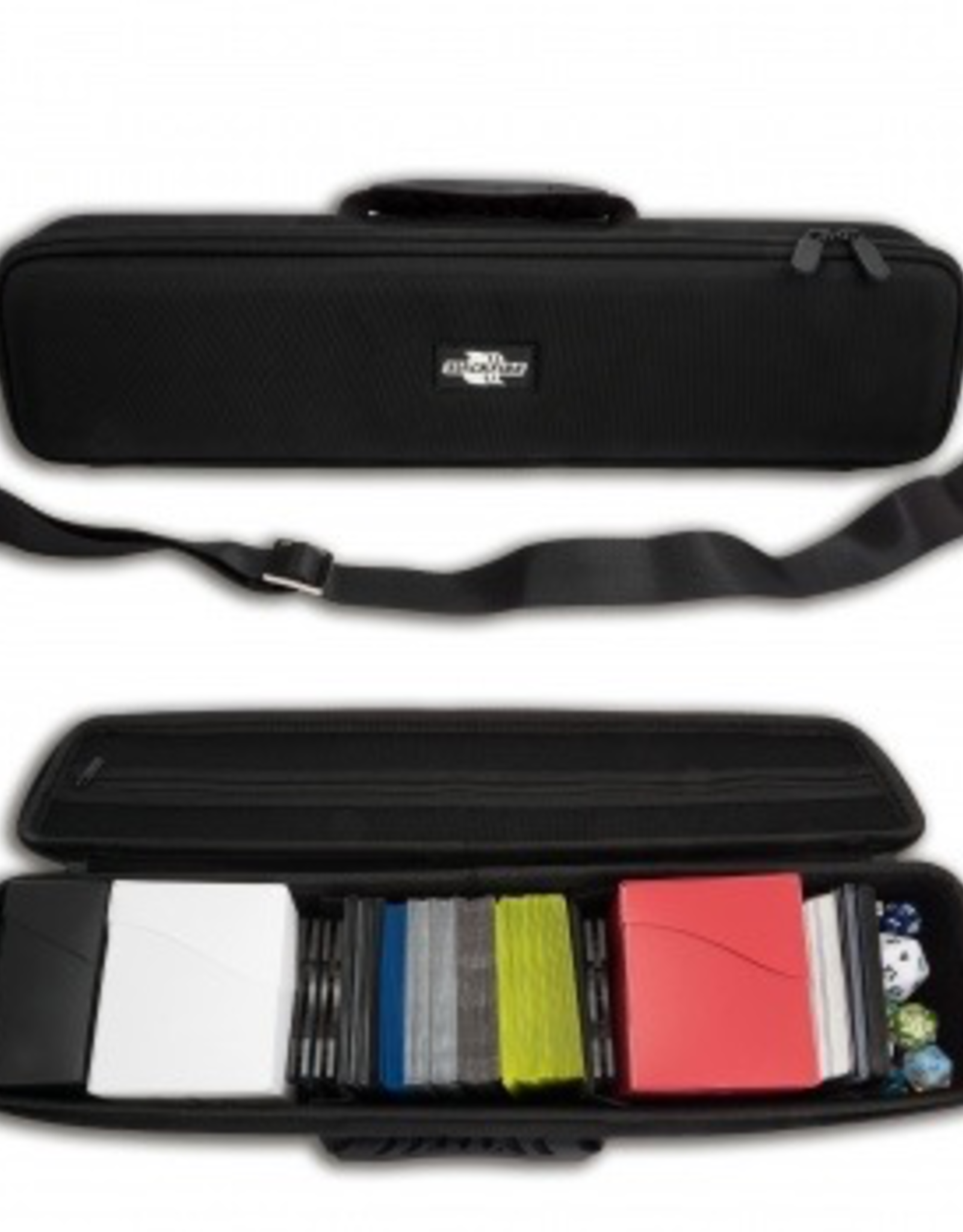 BF - Zubehör Blackfire Hard Card Case - Long (carries up to 1300 cards)