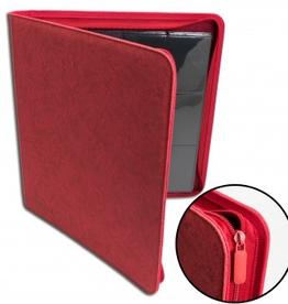 BF - Zubehör Blackfire 12-Pocket Premium Zip-Album - Red