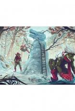 BF - Zubehör Blackfire Playmat Winter - Christmas Edition