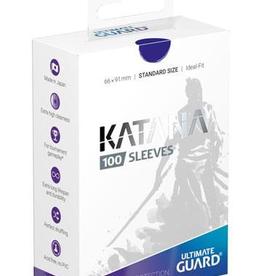 UG - Standard Sleeves Ultimate Guard Katana Sleeves Standardgröße Blau (100)