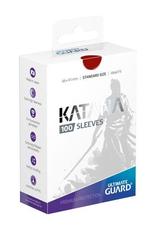 UG - Standard Sleeves Ultimate Guard Katana Sleeves Standardgröße Rot (100)
