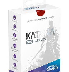 UG - Standard Sleeves Ultimate Guard Katana Sleeves Standardgröße Rot (100)