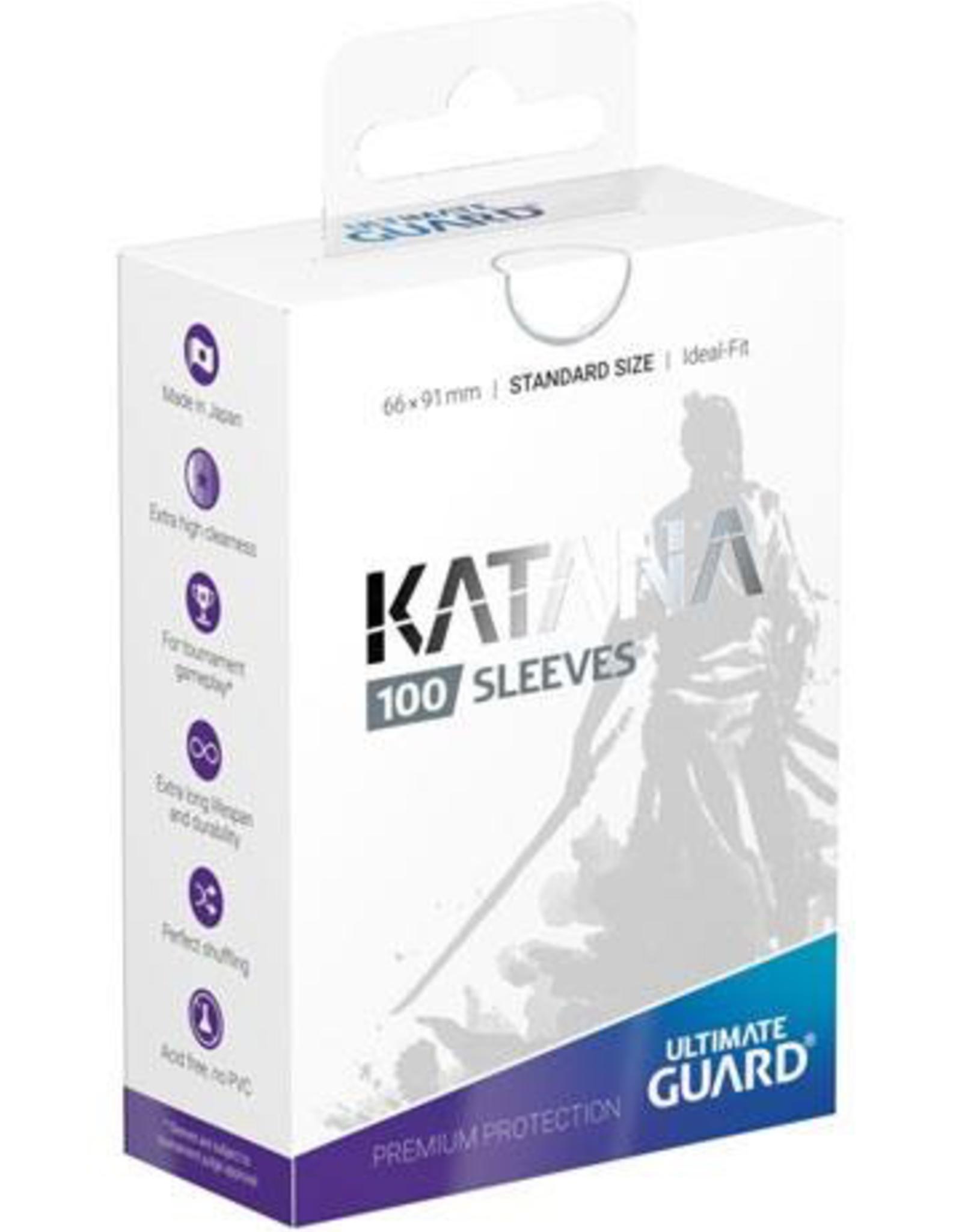UG - Standard Sleeves Ultimate Guard Katana Sleeves Standardgröße Weiss (100)