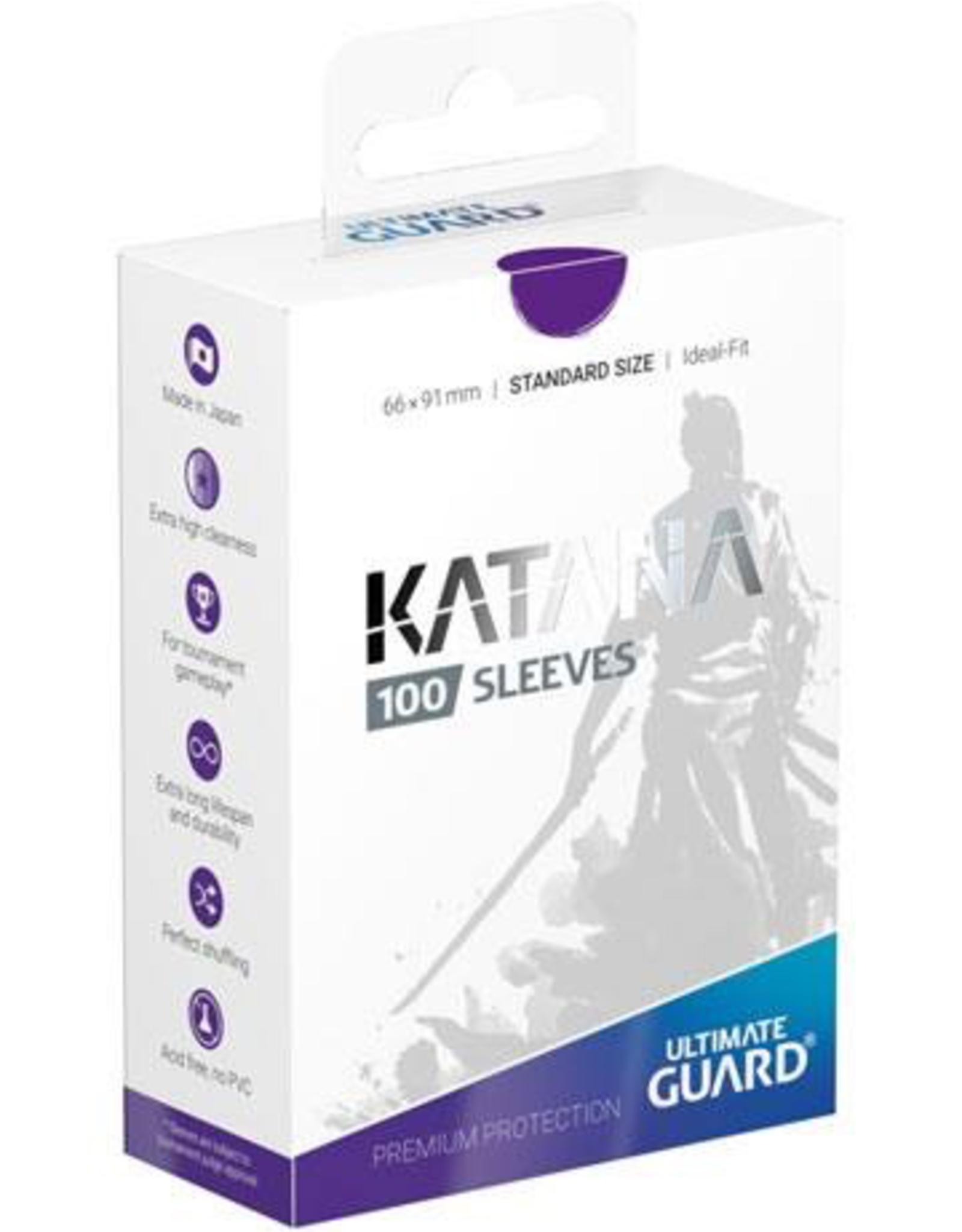 UG - Standard Sleeves Ultimate Guard Katana Sleeves Standardgröße Violett (100)