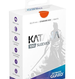 UG - Standard Sleeves Ultimate Guard Katana Sleeves Standardgröße Orange (100)