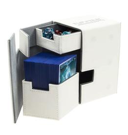 UG - Deckboxen Ultimate Guard Flip 'n' TrayDeck Case 100+ Standardgrösse XenoSkin Weiss