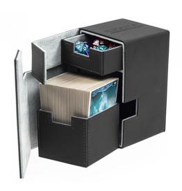 UG - Deckboxen Ultimate Guard Flip 'n' TrayDeck Case 100+ Standardgrösse XenoSkin Schwarz