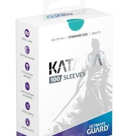 UG - Standard Sleeves Ultimate Guard Katana Sleeves Standardgröße Türkis (100)