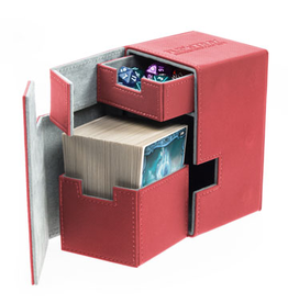 UG - Deckboxen Ultimate Guard Flip 'n' TrayDeck Case 100+ Standardgrösse XenoSkin Rot