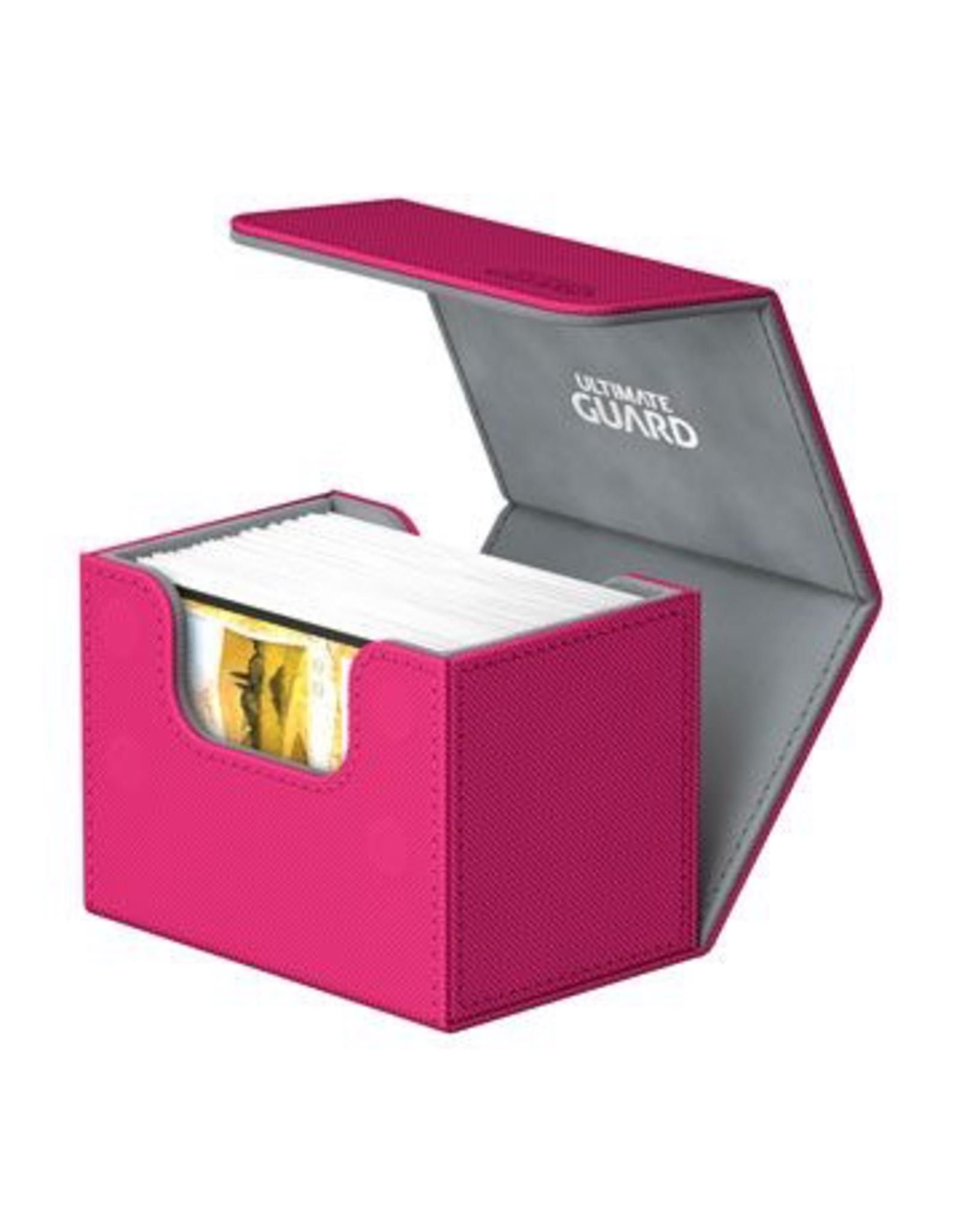 UG - Deckboxen Ultimate Guard Sidewinder 80+ Standardgrösse XenoSkin Pink