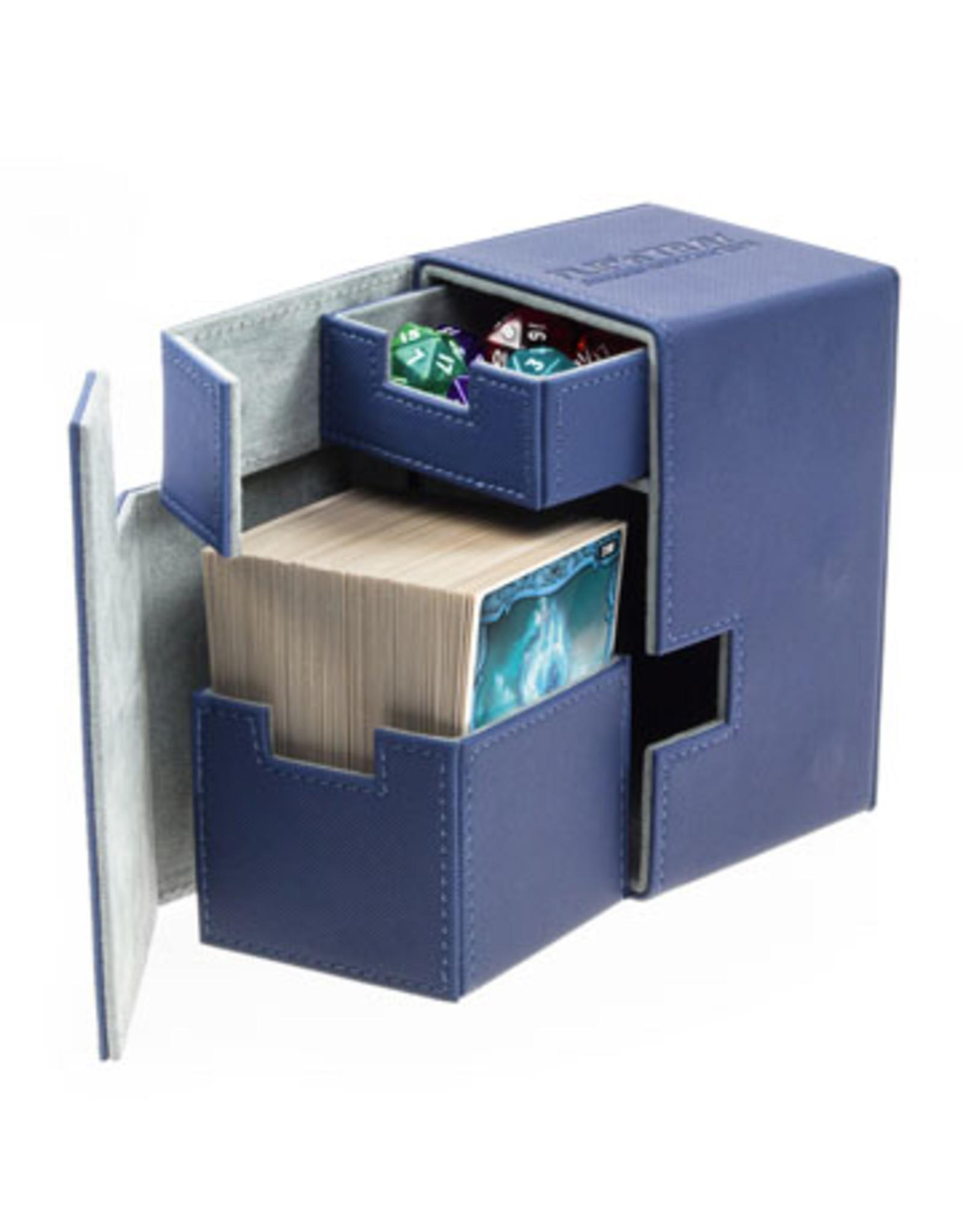 UG - Deckboxen Ultimate Guard Flip 'n' TrayDeck Case 100+ Standardgrösse XenoSkin Blau