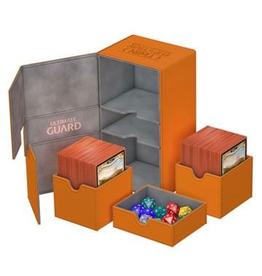 UG - Deckboxen Ultimate Guard Flip 'n' TrayDeck Case 200+ Standardgrösse XenoSkin Orange