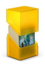 UG - Deckboxen Ultimate Guard Boulder™ Deck Case 80+ Standardgröße Bernstein