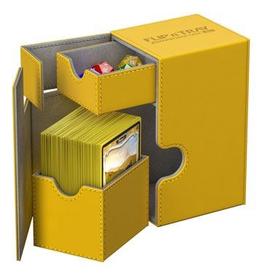 UG - Deckboxen Ultimate Guard Flip 'n' TrayDeck Case 80+ Standardgrösse XenoSkin Bernstein