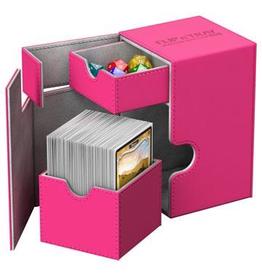 UG - Deckboxen Ultimate Guard Flip´n´Tray Deck Case 100+ Standardgröße XenoSkin™ Pink