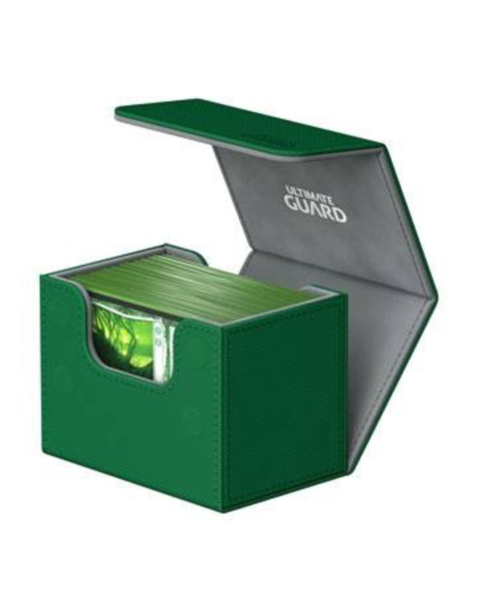 UG - Deckboxen Ultimate Guard Sidewinder 80+ Standardgrösse XenoSkin Grün
