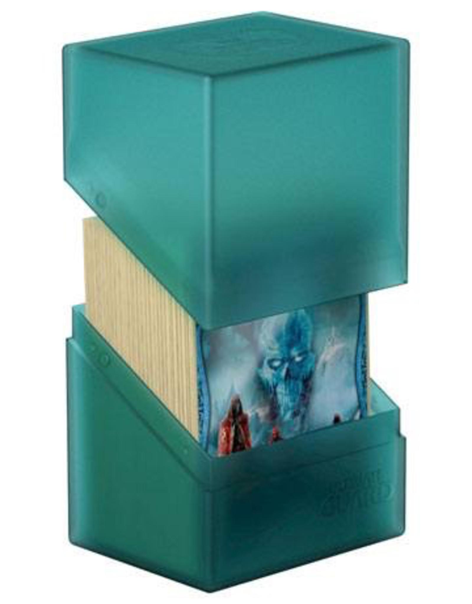 UG - Deckboxen Ultimate Guard Boulder™ Deck Case 80+ Standardgröße Malachite