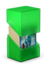 UG - Deckboxen Ultimate Guard Boulder™ Deck Case 80+ Standardgröße Emerald