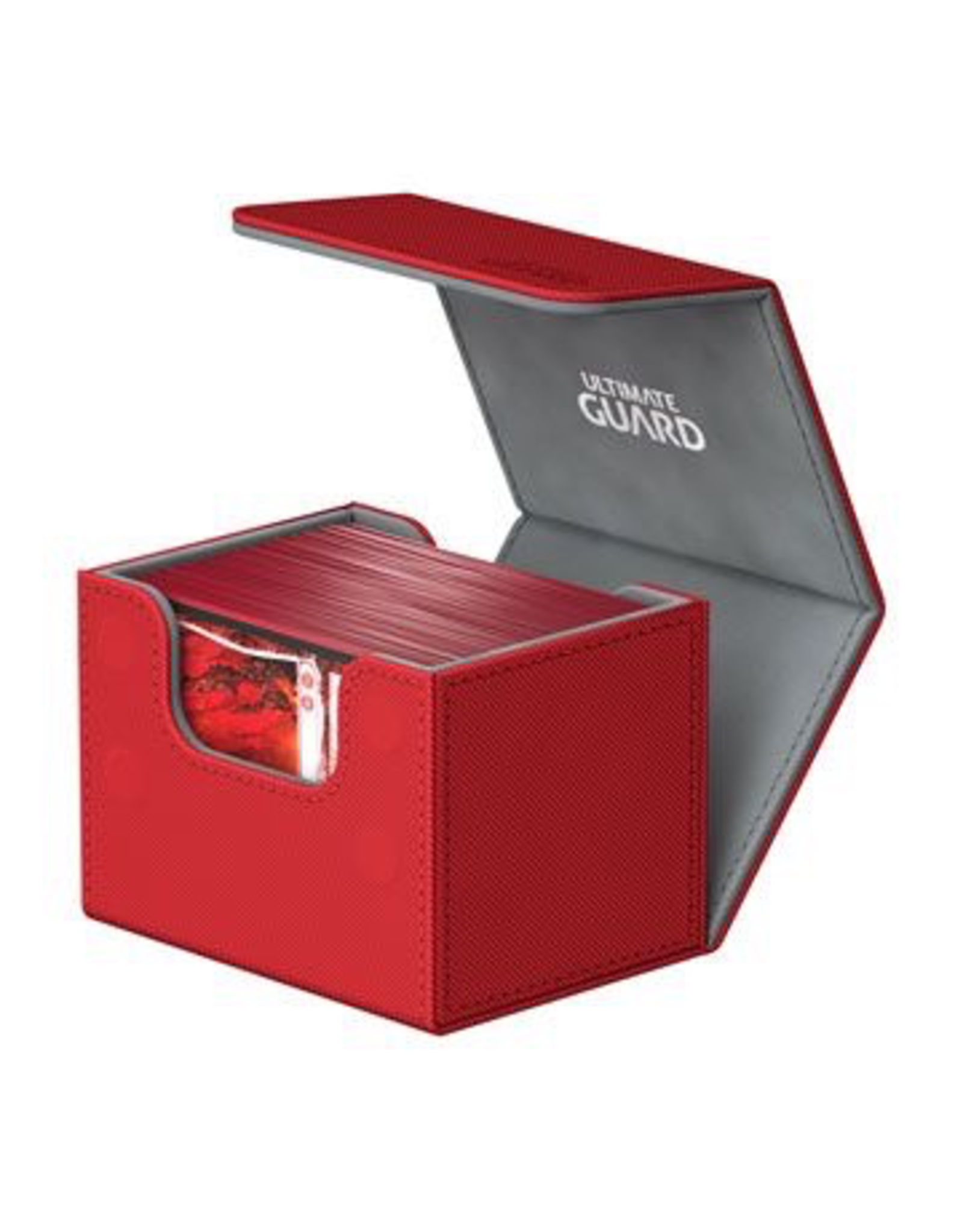 UG - Deckboxen Ultimate Guard Sidewinder 100+ Standardgrösse XenoSkin Rot